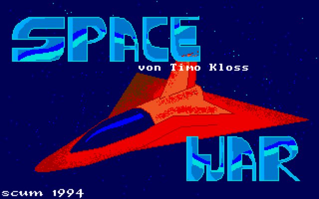 Space War Screen 1