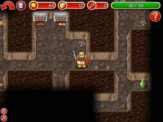 Dungeons Screen 1