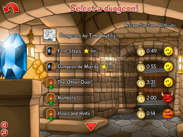 Dungeons Screen 3
