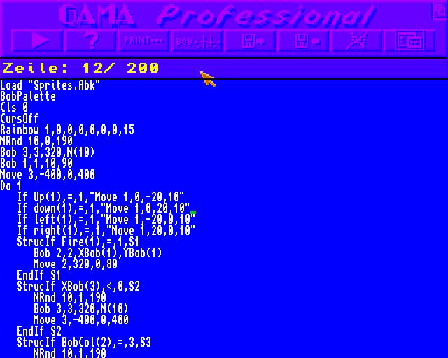 Gama Pro Screen 2