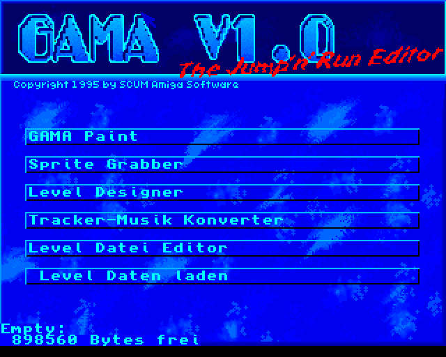 Gama Screen 1
